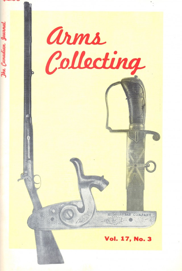 Canadian Journal of Arms Collecting - Vol. 17 No. 3 (Aug 1979)