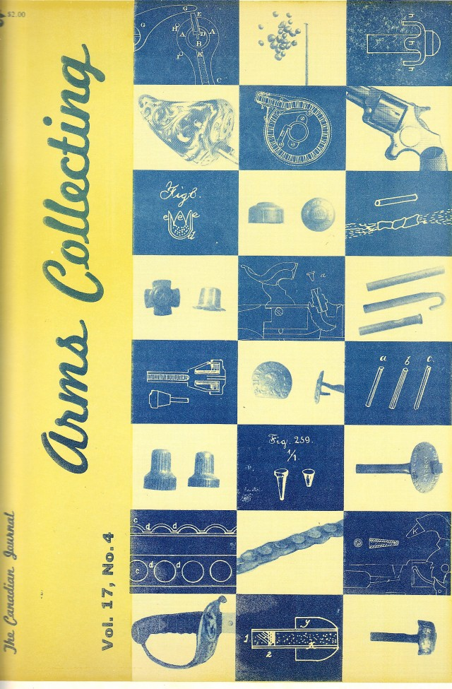 Canadian Journal of Arms Collecting - Vol. 17 No. 4 (Nov 1979)