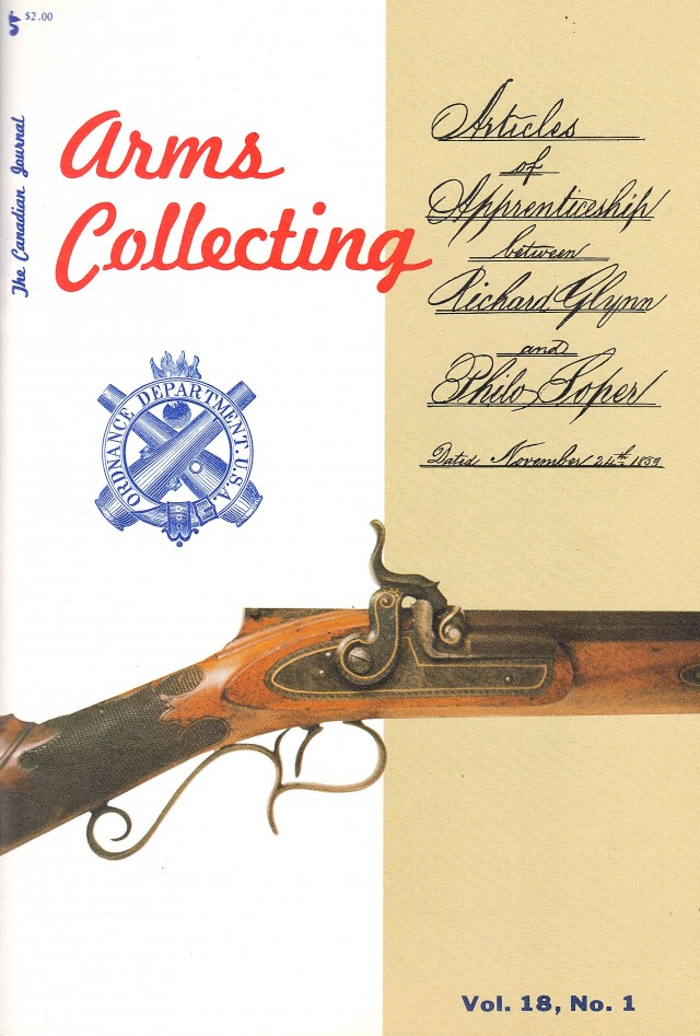 Canadian Journal of Arms Collecting - Vol. 18 No. 1 (Feb 1980)