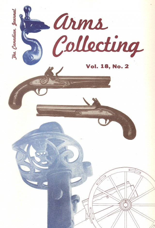 Canadian Journal of Arms Collecting - Vol. 18 No. 2 (May 1980)