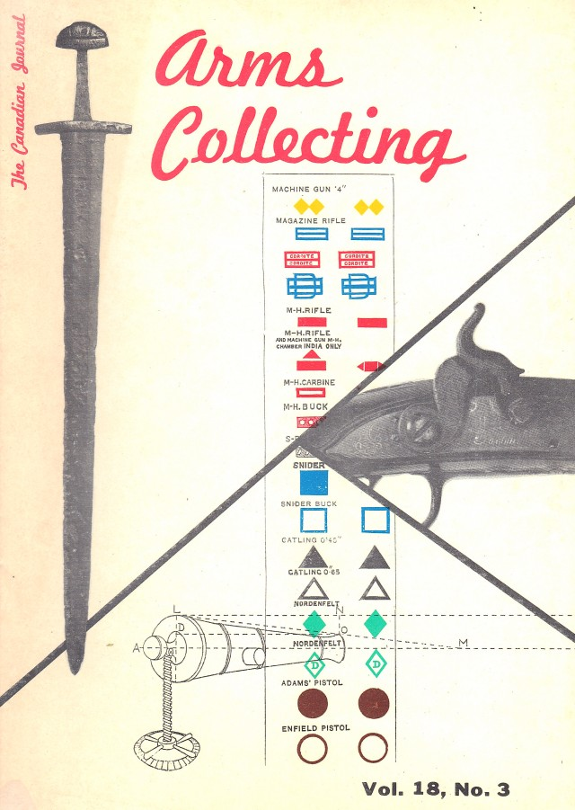 Canadian Journal of Arms Collecting - Vol. 18 No. 3 (Aug 1980)