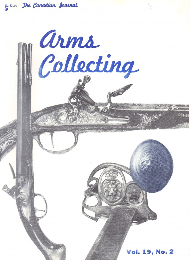 Canadian Journal of Arms Collecting - Vol. 19 No. 2 (May 1981)