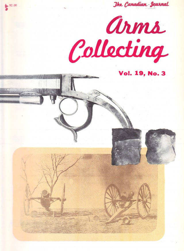 Canadian Journal of Arms Collecting - Vol. 19 No. 3 (Aug 1981)