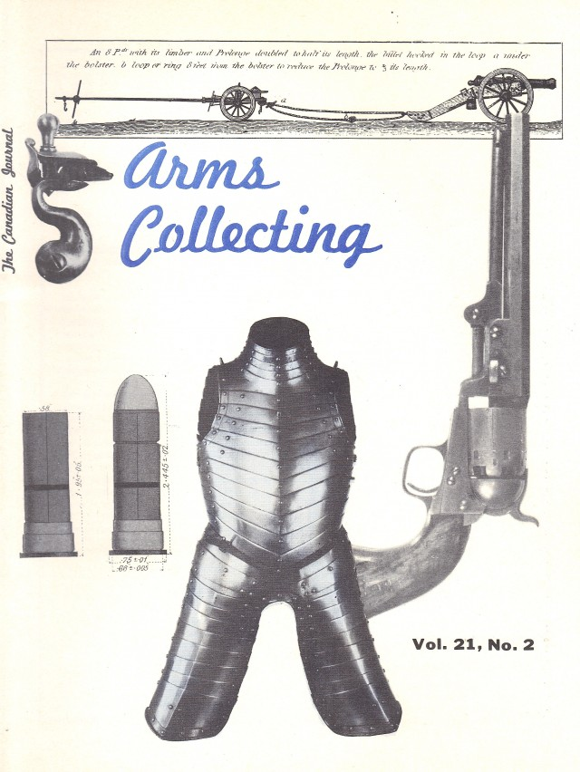 Canadian Journal of Arms Collecting - Vol. 21 No. 2 (May 1983)