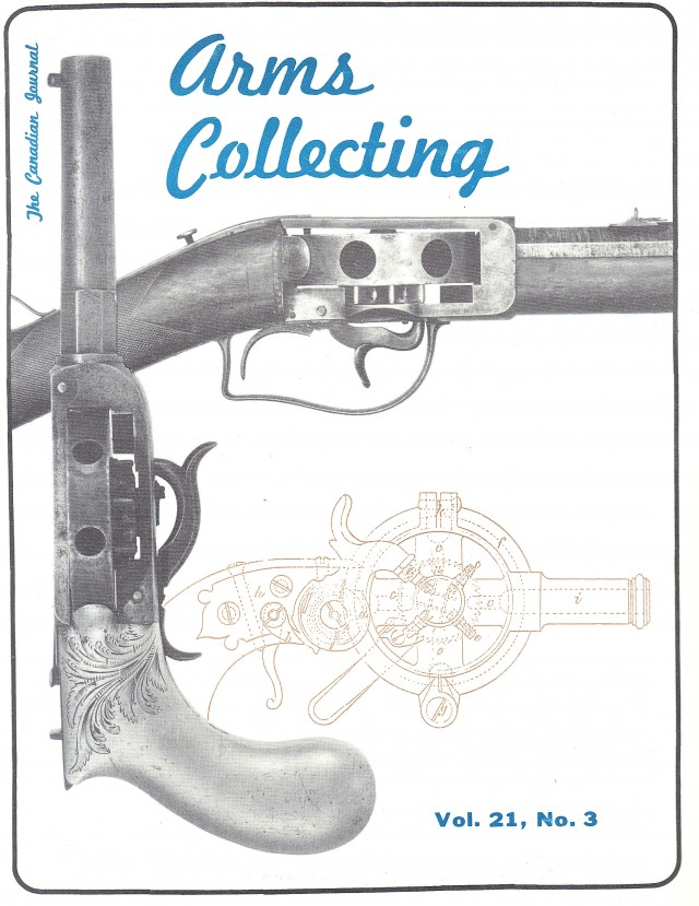 Canadian Journal of Arms Collecting - Vol. 21 No. 3 (Aug 1983)