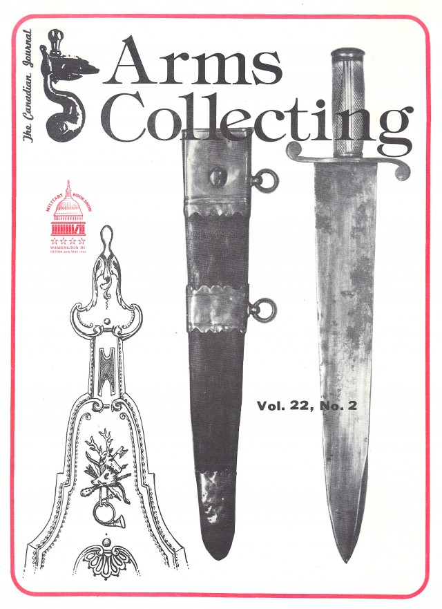 Canadian Journal of Arms Collecting - Vol. 22 No. 2 (May 1984)