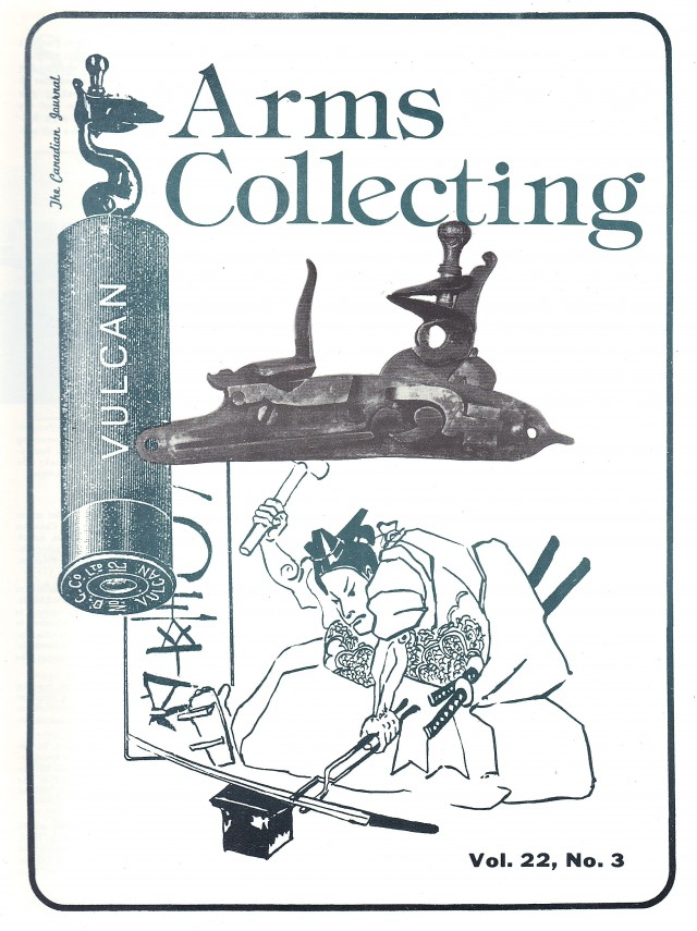 Canadian Journal of Arms Collecting - Vol. 22 No. 3 (Aug 1984)
