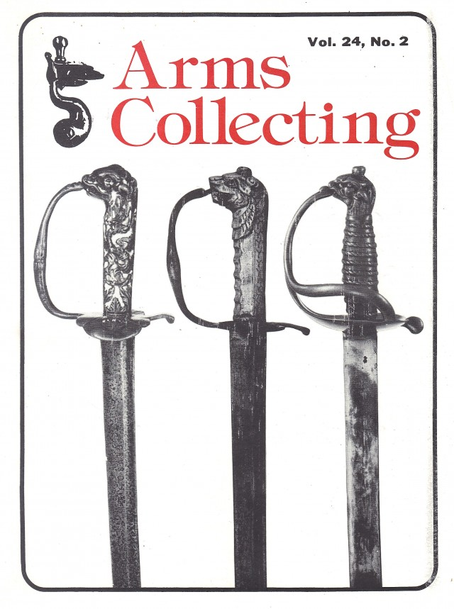 Canadian Journal of Arms Collecting - Vol. 24 No. 2 (May 1986)