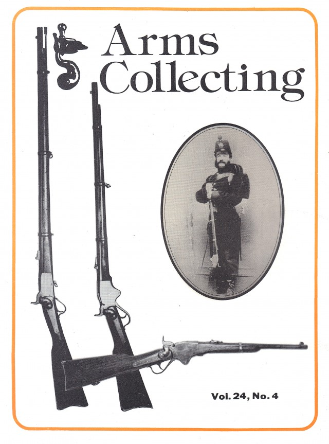 Canadian Journal of Arms Collecting - Vol. 24 No. 4 (Nov 1986)