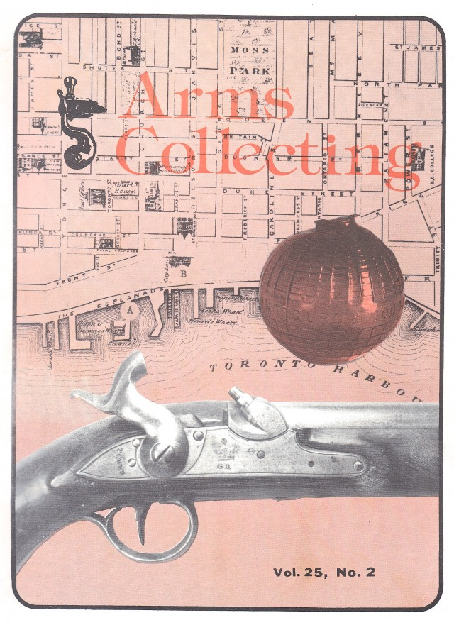Canadian Journal of Arms Collecting - Vol. 25 No. 2 (May 1987)