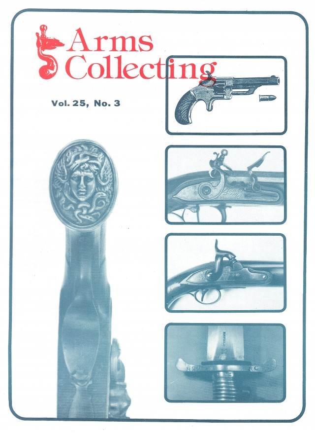 Canadian Journal of Arms Collecting - Vol. 25 No. 3 (Aug 1987)