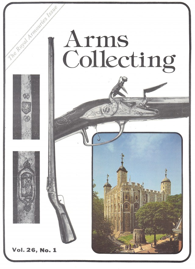 Canadian Journal of Arms Collecting - Vol. 26 No. 1 (Feb 1988)