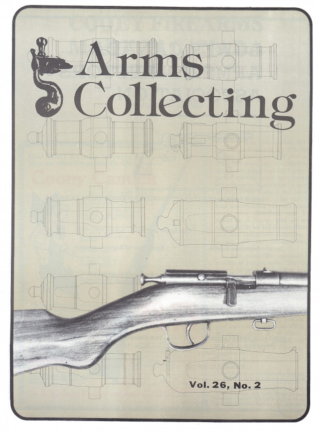 Canadian Journal of Arms Collecting - Vol. 26 No. 2 (May 1988)