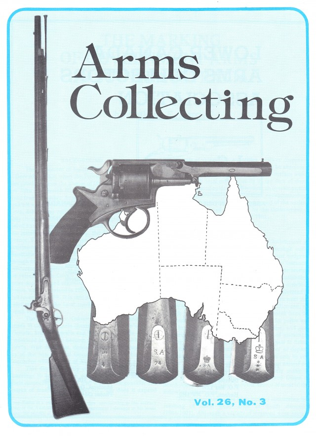 Canadian Journal of Arms Collecting - Vol. 26 No. 3 (Feb 1988)