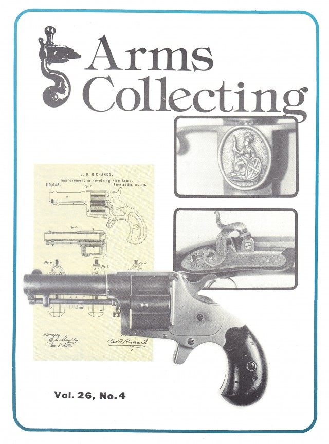 Canadian Journal of Arms Collecting - Vol. 26 No. 4 (Nov 1988)