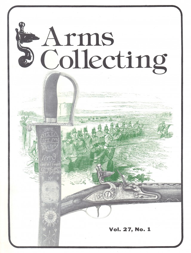 Canadian Journal of Arms Collecting - Vol. 27 No. 1 (Feb 1989)