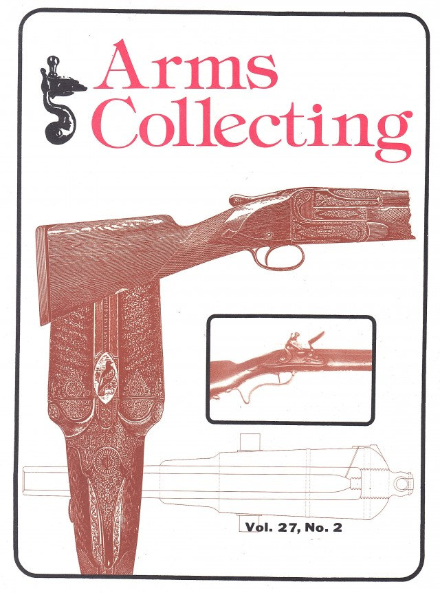Canadian Journal of Arms Collecting - Vol. 27 No. 2 (May 1989)