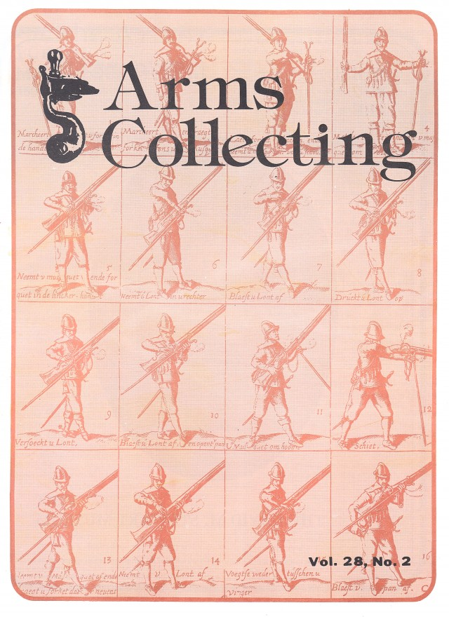 Canadian Journal of Arms Collecting - Vol. 28 No. 2 (May 1990)