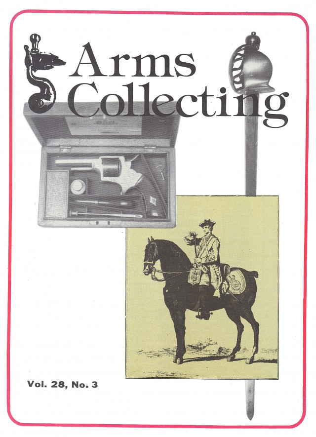 Canadian Journal of Arms Collecting - Vol. 28 No. 3 (Aug 1990)