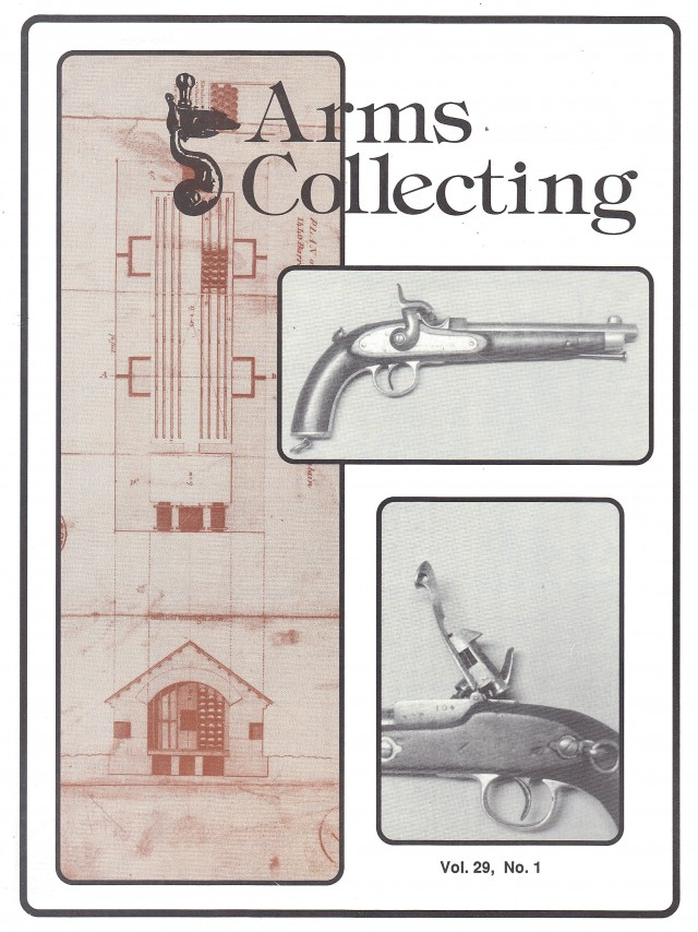 Canadian Journal of Arms Collecting - Vol. 29 No. 1 (Feb 1991)