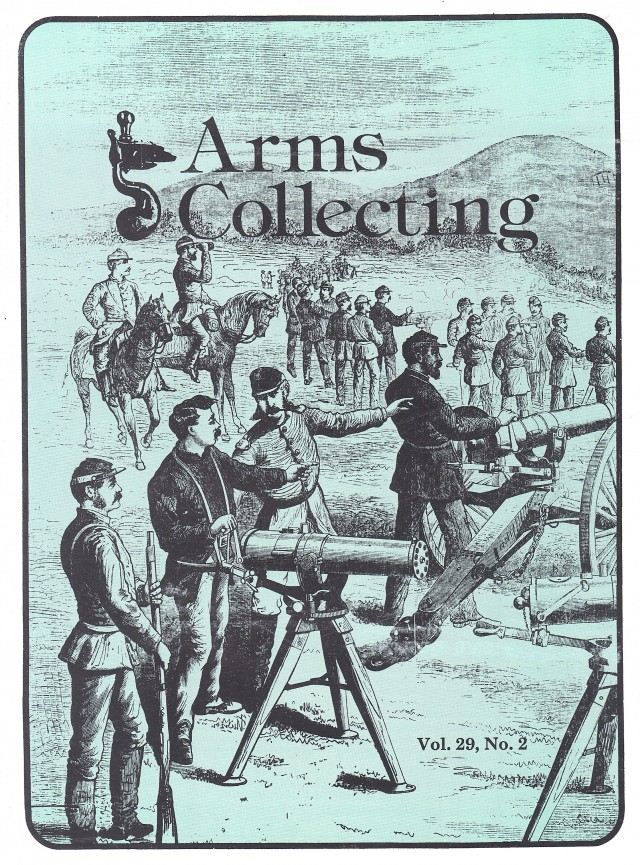 Canadian Journal of Arms Collecting - Vol. 29 No. 2 (May 1991)