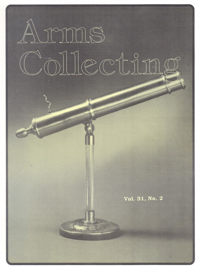 Canadian Journal of Arms Collecting - Vol. 31 No. 2 (May 1993)