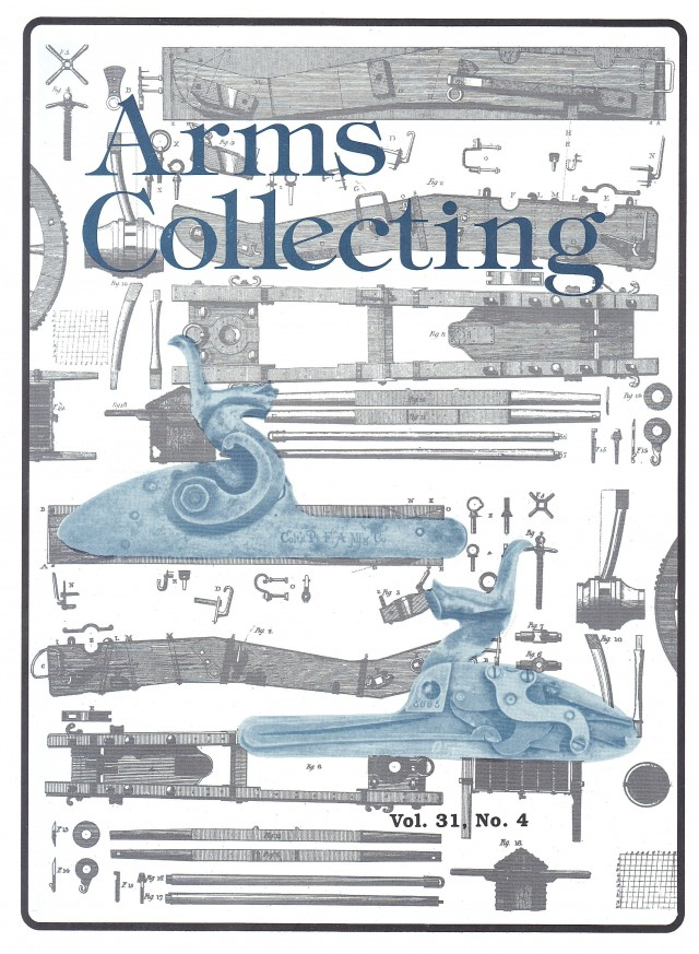 Canadian Journal of Arms Collecting - Vol. 31 No. 4 (Nov 1993)