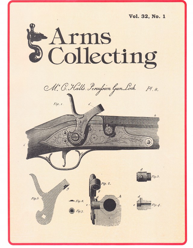 Canadian Journal of Arms Collecting - Vol. 32 No. 1 (Feb 1994)