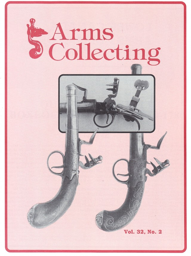 Canadian Journal of Arms Collecting - Vol. 32 No. 2 (May 1994)