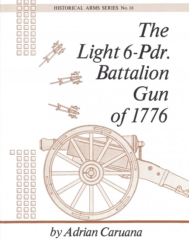 Light 6-Pounder Battalion Gun of 1776 Rev War Cannon