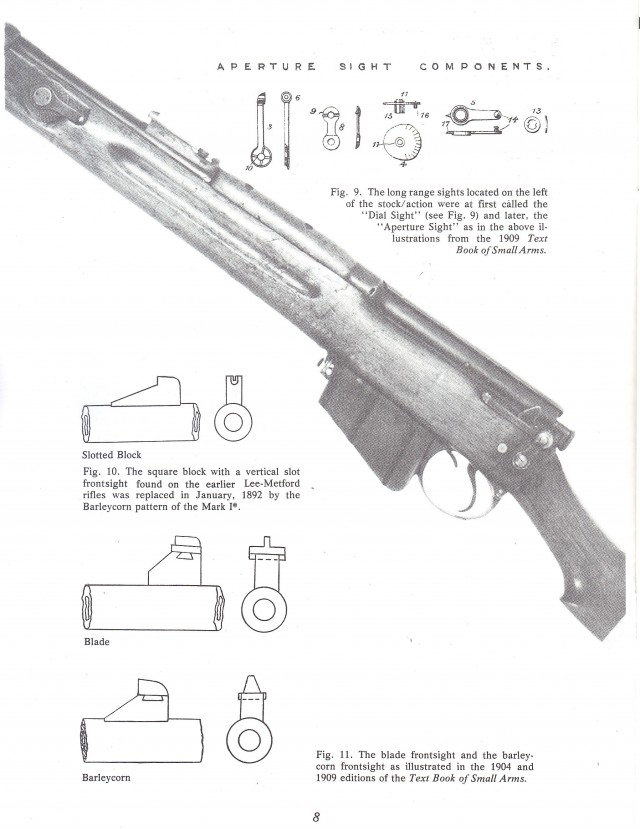 The Lee Enfield British Service Rifle from 1888 to 1950 Booklet
