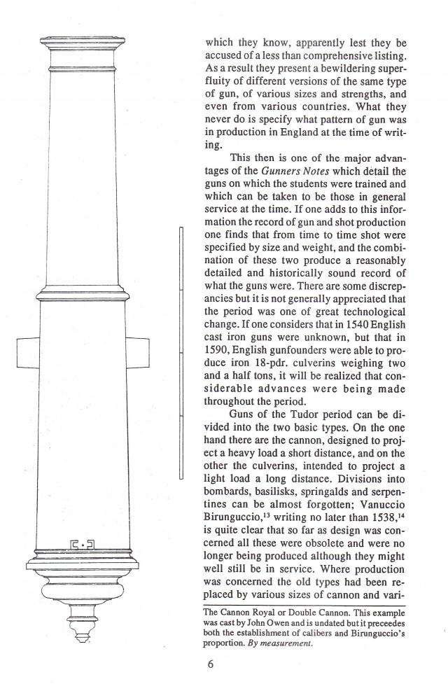 Tudor Artillery, 1485-1603 Early Cannons & Artillery