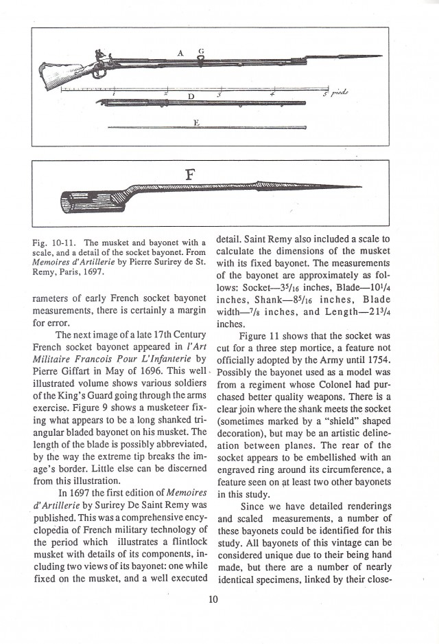 The Bayonet in New France, 1665-1760