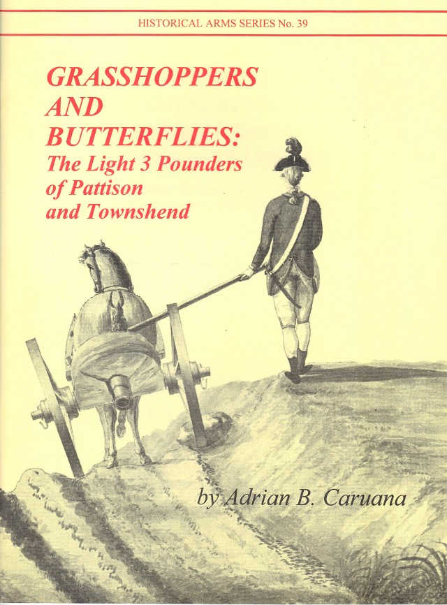 Grasshoppers and Butterflies: The Light 3-Pounders Royal Artillery