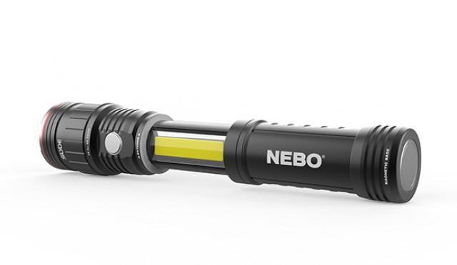NEBO Slide King 500 lumen LED flashlight - Free Shipping