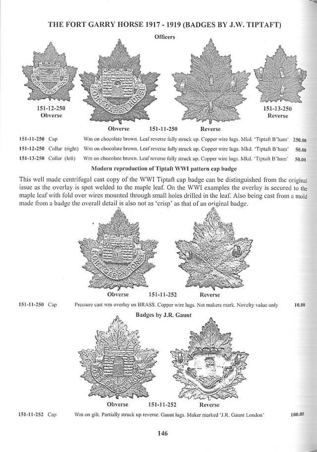 Brooker's Canadian Army Badges From 1920 to Unification Vol. 2